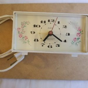 Other - Vintage Dash Westclox electric dialite alarm clock